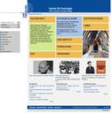 - Portlets im unteren Seitenbereich, Tabelle zur Strukturierung, aktuelle Nachrichten mit Bild auf Startseite.